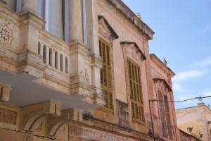 Ciutadella - Fassaden in der Altstadt.