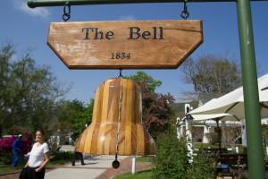 The Bell Tavern ist in einem ehemaligen Bauernhaus untergebracht, hier spürt man die Atmosphäre vergangener Tage
