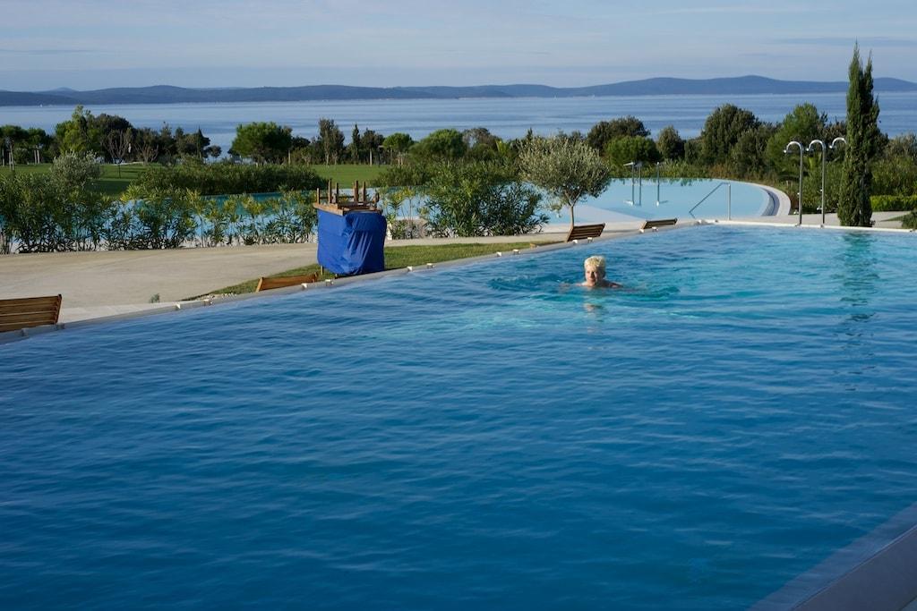 So herrlich kann man Ende November in Dalmatien schwimmen.