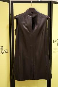 diese Weste aus Leder gehört zur Kollektion Fashion Power Travel.