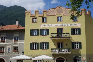 Glurns - Hotel zum grünen Baum am Dorfplatz