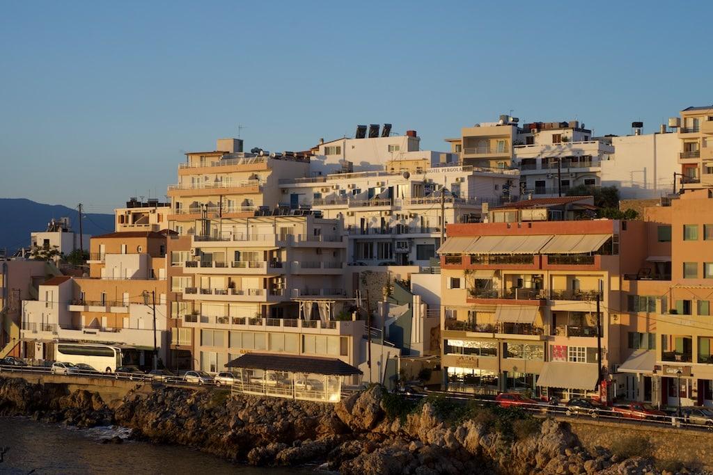der Hafen von Agios Nikolaos auf Kreta