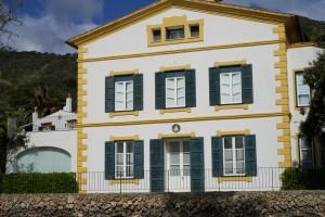 Das Herrenhaus von Hort de Sant Patrici, heute das Hotel.