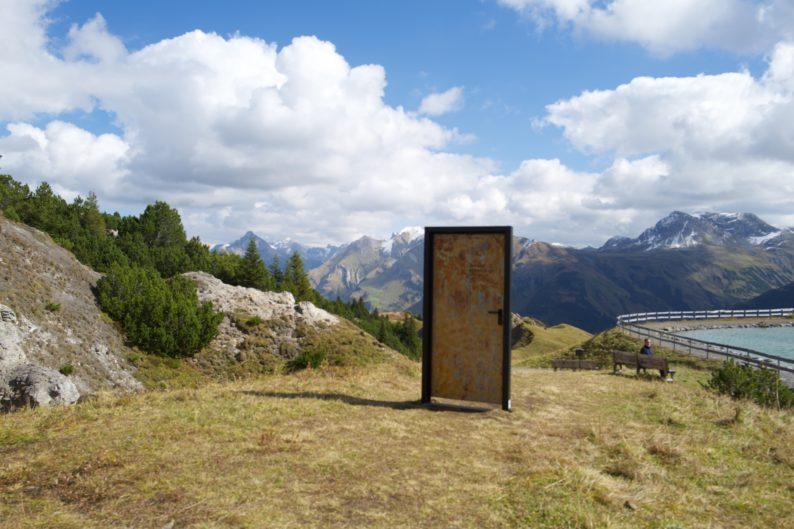 Der grüne Ring - Kriegeralpe - Tür von Michaela Egger (1)
