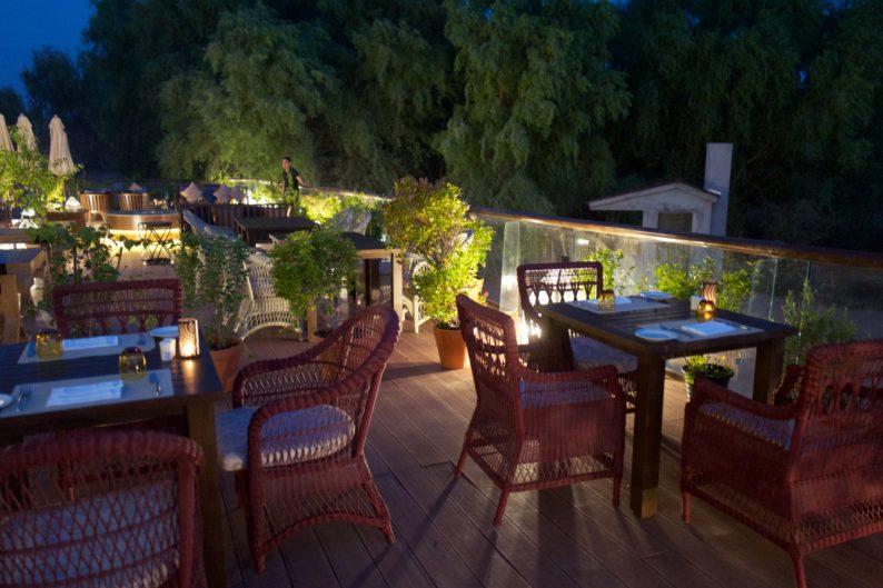 El Wadi Ritz Carlton - Terrasse