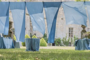 Färben mit Pastel im Chateau Loubens