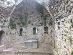 Festung Peyrepertuse - die romanische Kapelle