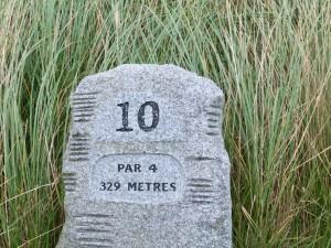 Tee 10 auf dem Golfplatz Portmarnock Golf and Hotel