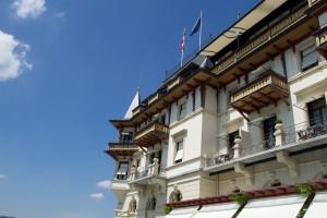 großbürgerliche Fassade des The Dolder Grand