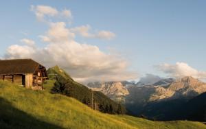 Eine Landschaft wie aus einem Traum - der Hornberg. Foto Roger Gruetter.