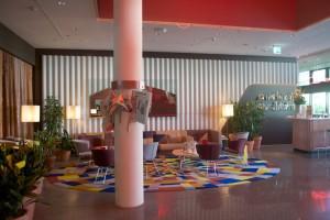 Das Foyer des Hotel 25hours.