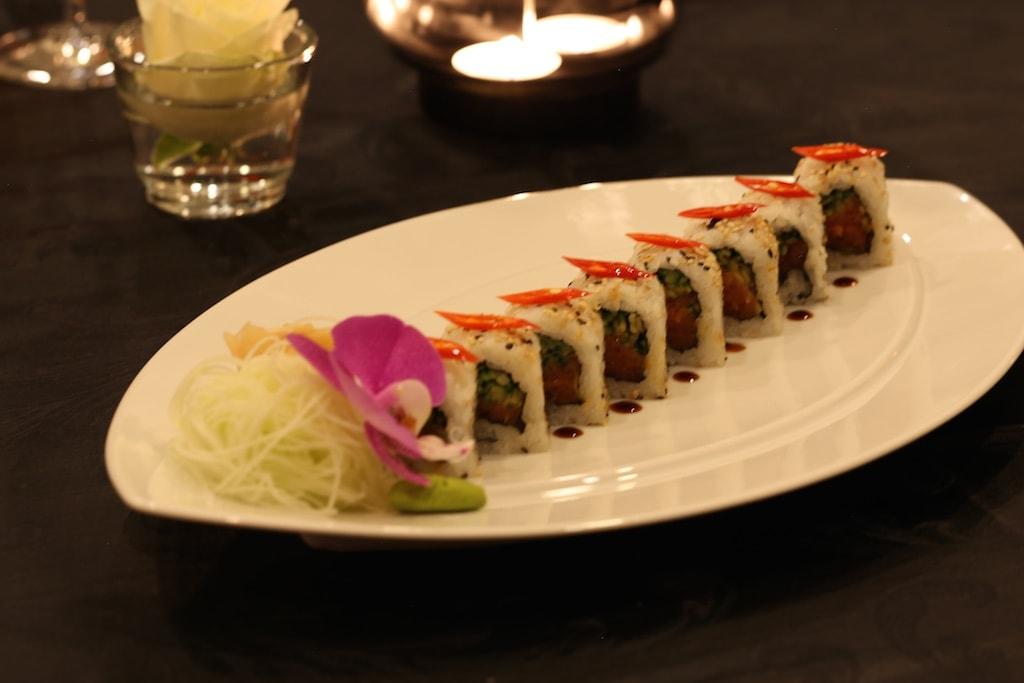 Die spicy tuna roll im Restaurant Sra Bus sollte man sich nicht entgehen lassen.