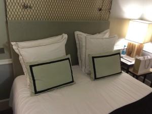 Das sind die gepflegten Zimmer des Hotel Recamier