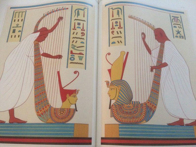 Taschen - Egyptian Art- Bardes de Rames III.
