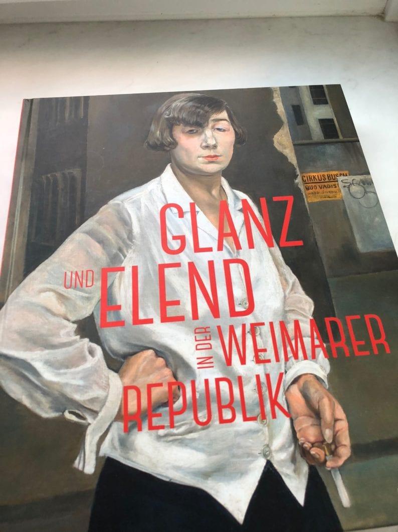 Katalog zur Ausstellung in der Schirn Frankfurt - Rudolf Schlichter Margot 1924