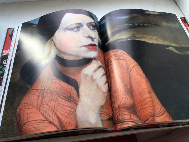 Glanz und Elend in der Weimarer Republik - Kate Diehn-Bitt - Selbstbildnis 1935