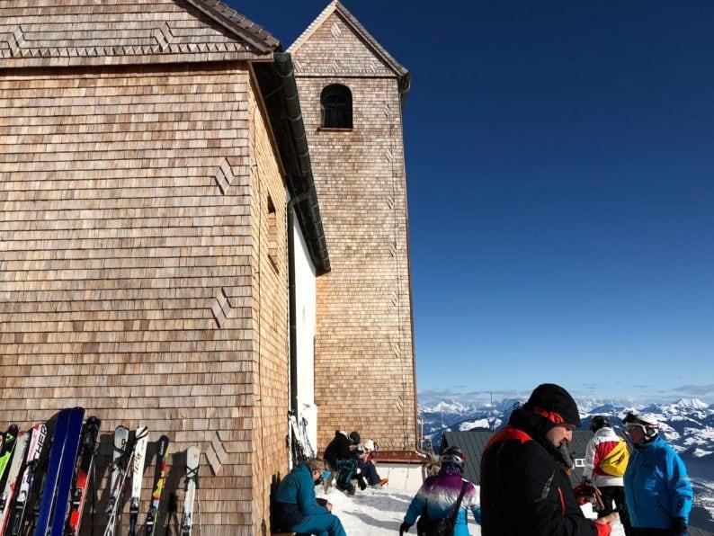 Wallfahrtskirche auf der Hohen Salve