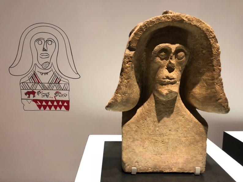 Nîmes - Musée de la Romanité -keltischer Helm
