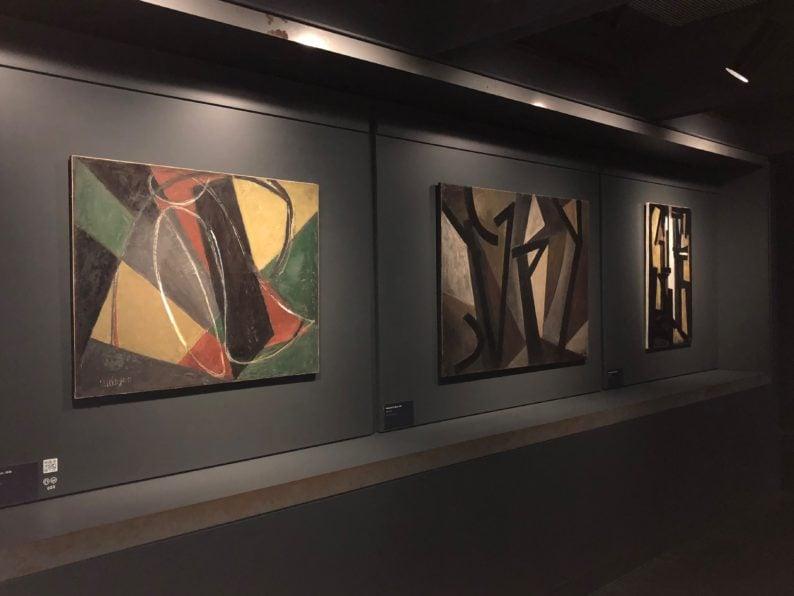 Rodez - Musée Soulages - die frühen Bilder