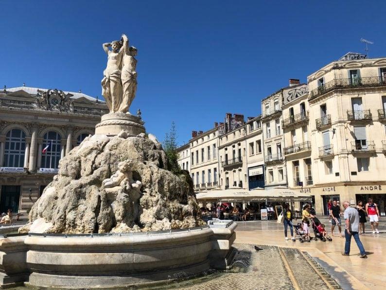 Montpellier - Brunnen 3 Graces