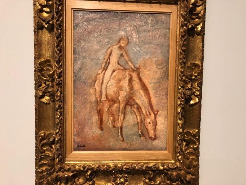 Musée Fabre - Picasso- Ausstellung - Knabe auf Pferd