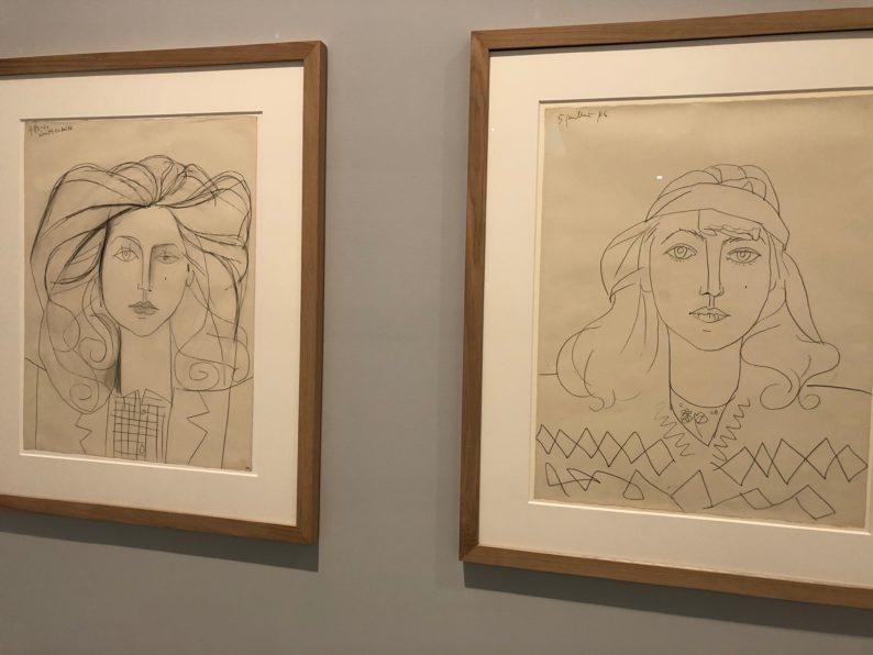 Musée Fabre - Picasso- Ausstellung -Francoise Gilot 1946