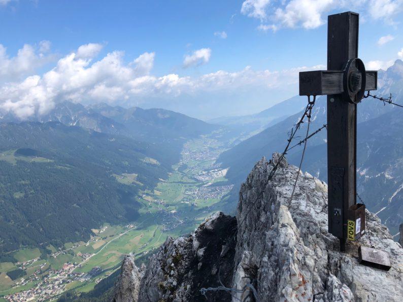 Gipfelkreuz Hoher Burgstall