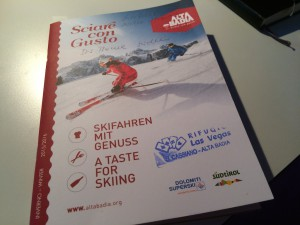 """Das Programm """"Skifahren mit Genuss"""" 2016"""