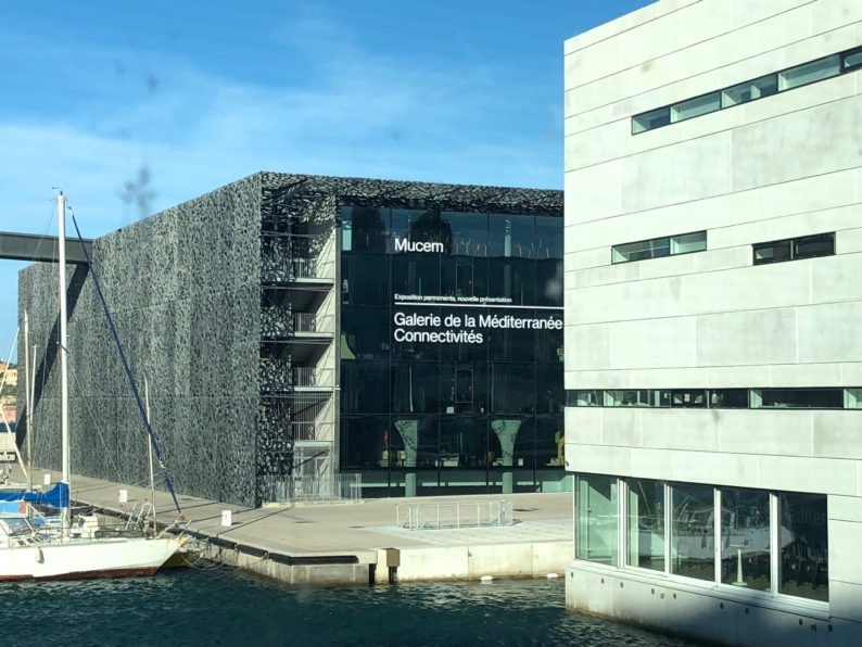 Marseille - das Museum MUCEM