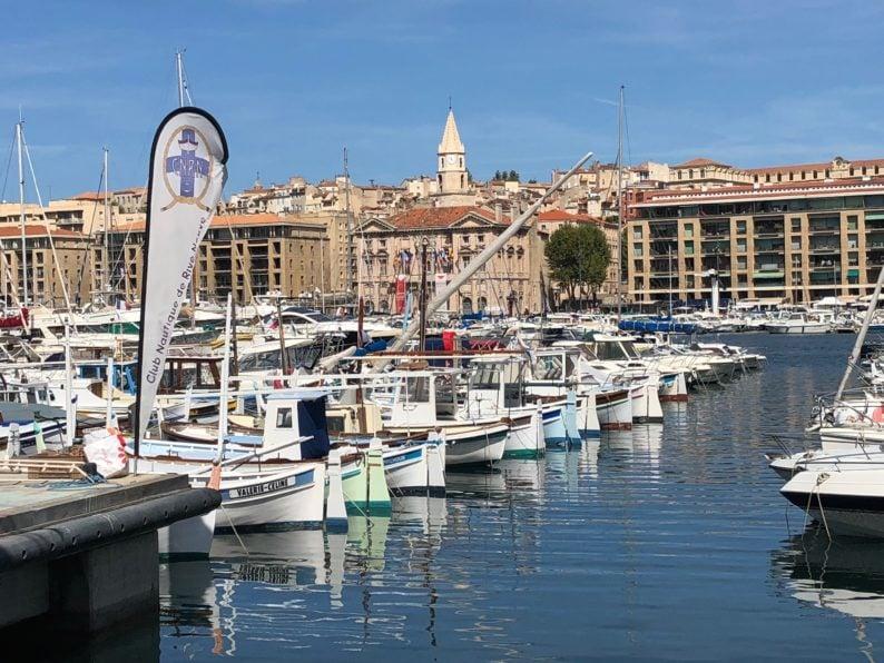im Yachthafen von Marseille