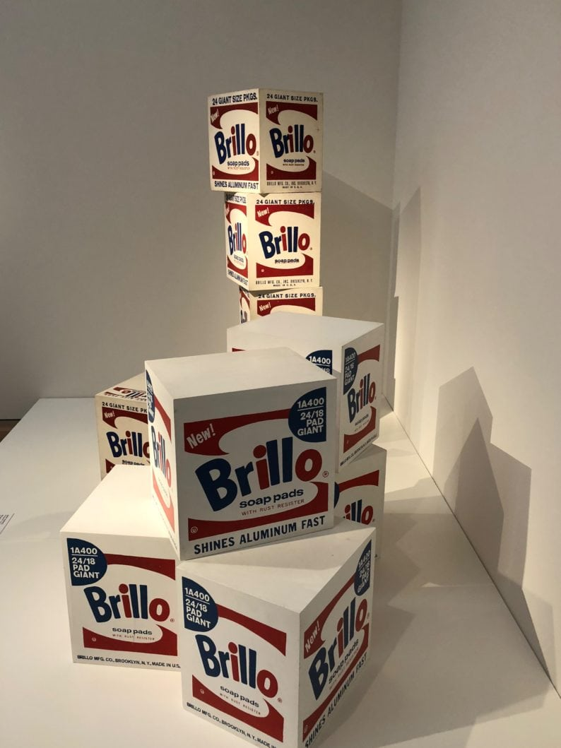Andy Warhol - Brillo Soap Pads Box 1968