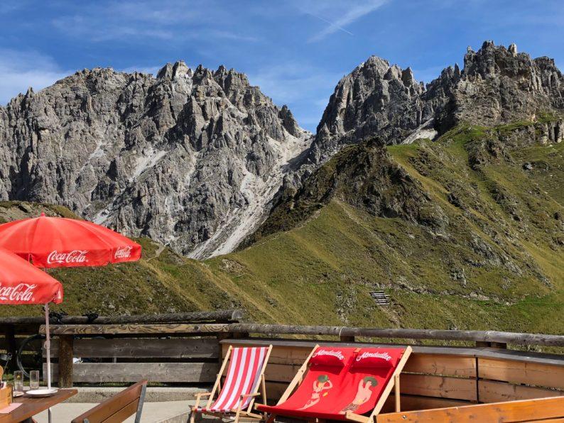 Innsbrucker Hütte - Panorama