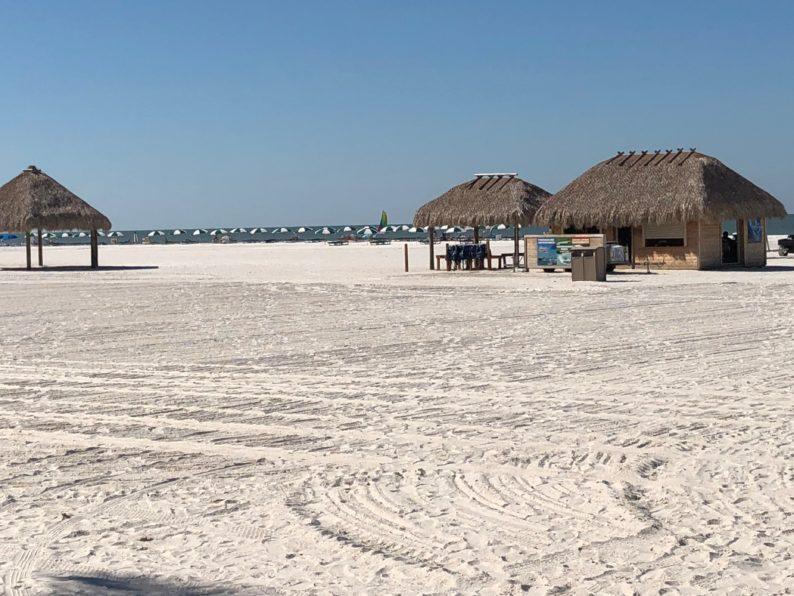 Strand des Hotel Mariott auf Marco Island