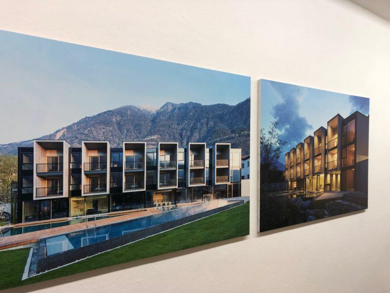 Kunst Meran - Architekturausstellung - Hotel Sand in Tschads