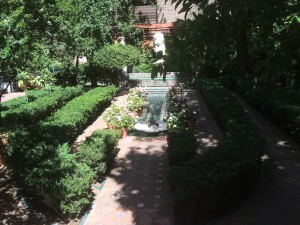 Museo Sorolla - der Garten