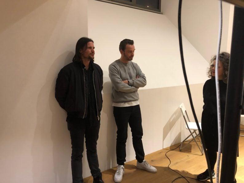 Im Bunker - Michael Sailstorfer und Lucas Freirass