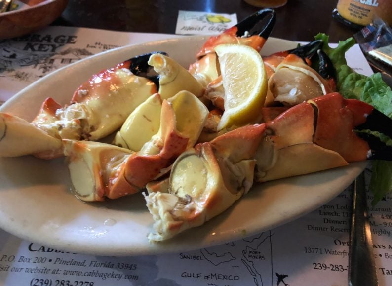 Cabbage Key - Stone Crab