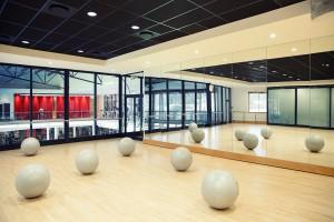 einer der schönsten Gyms ist der Virgin Active in Melrose Arch