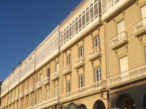 La Coruna - Art Deco Galerie an der Avenida de la Marina