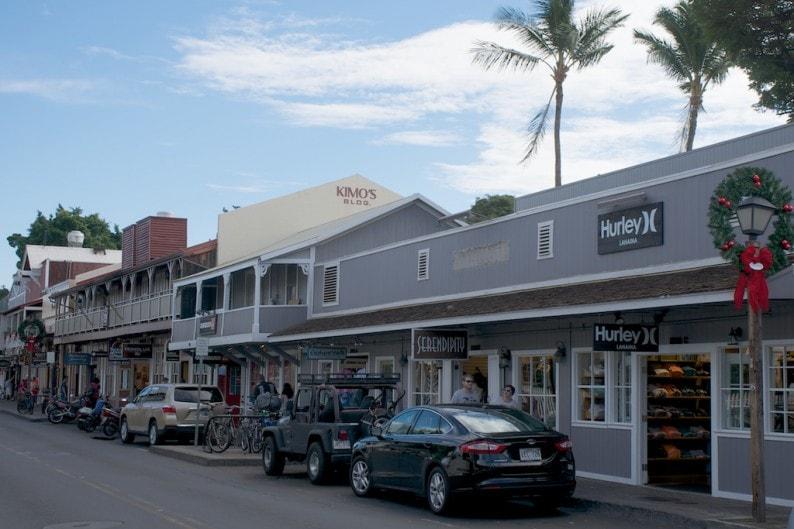 Maui - Lahaina - Front Street