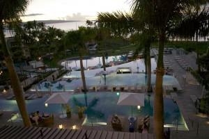 Die Pool-Landschaft des Hotel Hyatt Anlass