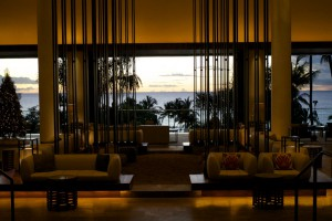 Lounge im Hotel Andaz Hyatt