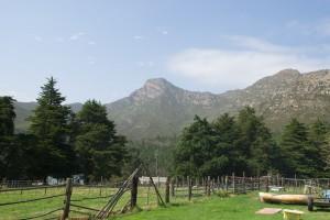 Blick auf die Ouentiqua - Berge bei Herold Eines