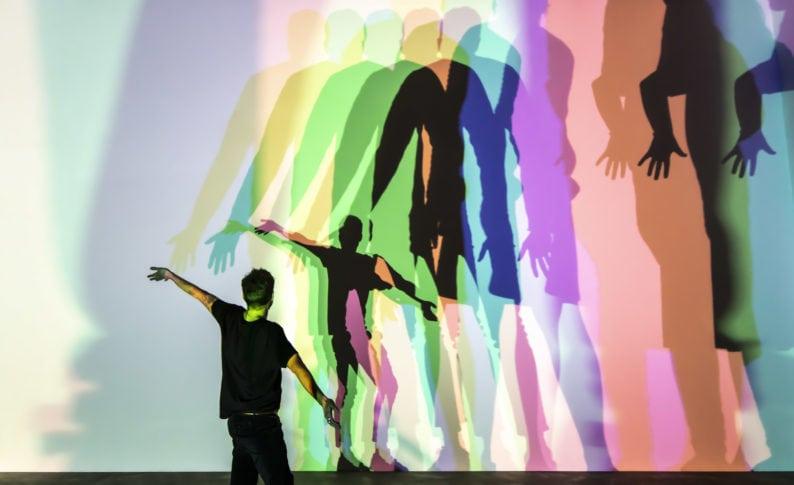 Olafur Eliasson - Your uncertain shadow (colour), 2010