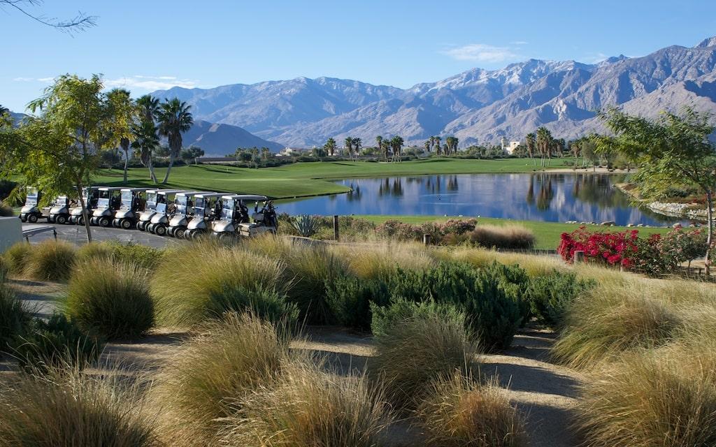 tolle Kulisse des Escena Golf Clubs.