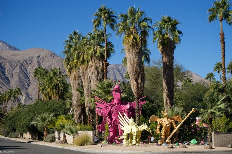 Palm Springs - Kunstobjekte