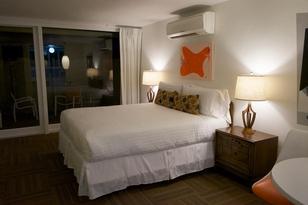 Das Schlafzimmer im The Horizon Hotel.