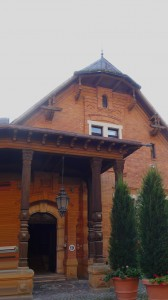 Das Jagdschloss der Thurn&Taxis ist heute das Clubhaus.