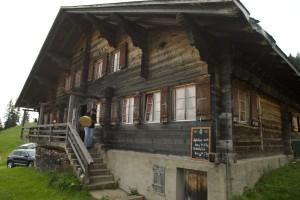 die Tradition hat viel Bedeutung in Gstaad.