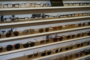 Nichts als Brillen